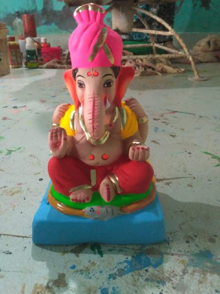 Eco Friendly Ganesh Idols 15
