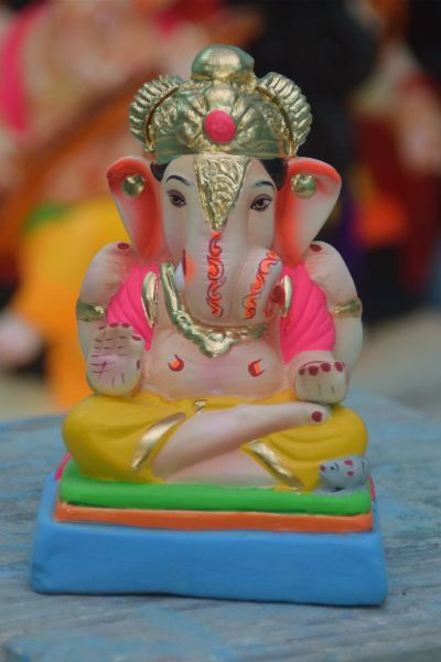 Eco Friendly Ganesh Idols 17