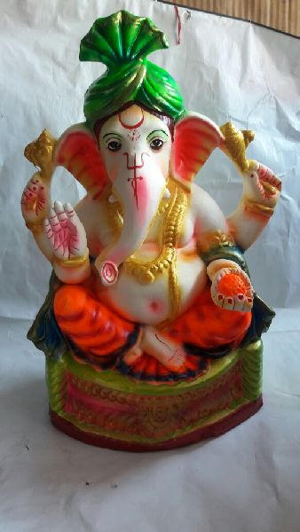 Eco Friendly Ganesh Idols 29