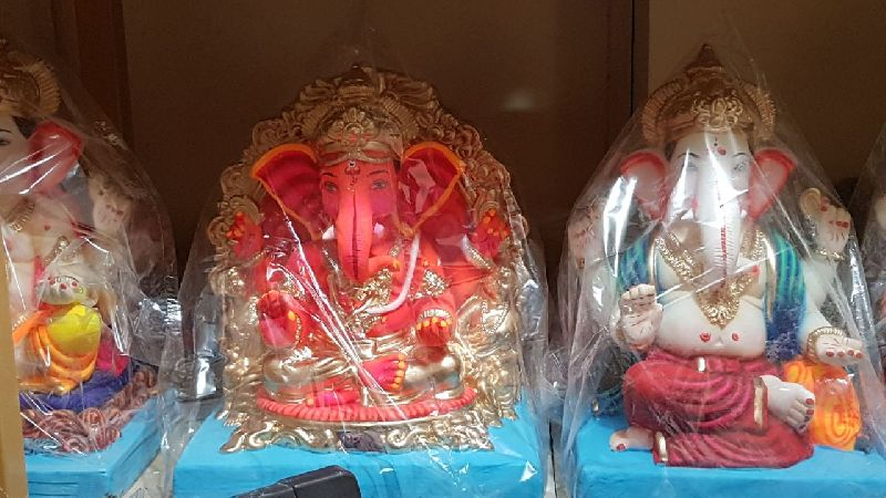 Eco Friendly Ganesh Idols 33