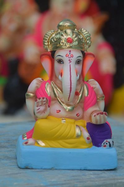 Eco Friendly Ganesh Idols 34