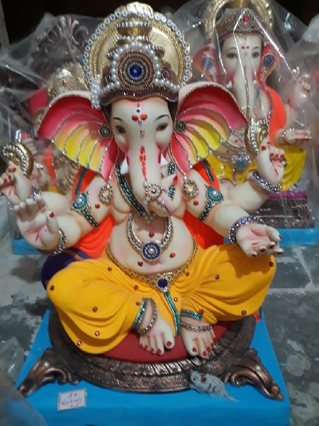 Eco Friendly Ganesh Idols 39