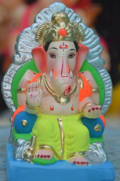 Eco Friendly Ganesh Idols 50