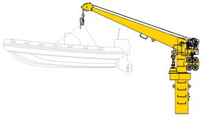 Boat Davit Crane (2T)