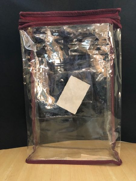 PVC Zipper Curtain Bag