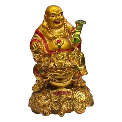 Ceramic Laughing Buddha Statue 02