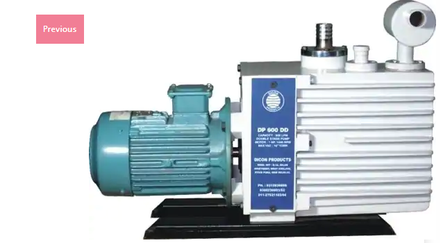 Oil Seal Low Vacuum Pump