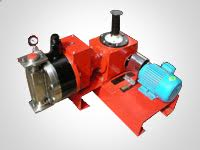 Positive Hydraulic Sandwich Diaphragm Pump