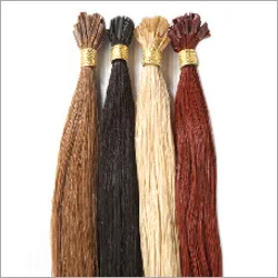 Red Color Human Hair Extension
