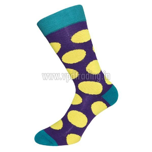 Ladies Polka Dot Socks