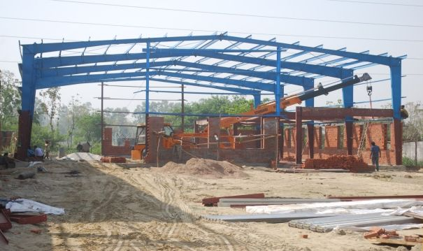 Pre Engineered Steel Building 01