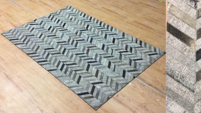 Leather Jacquard Carpets 01