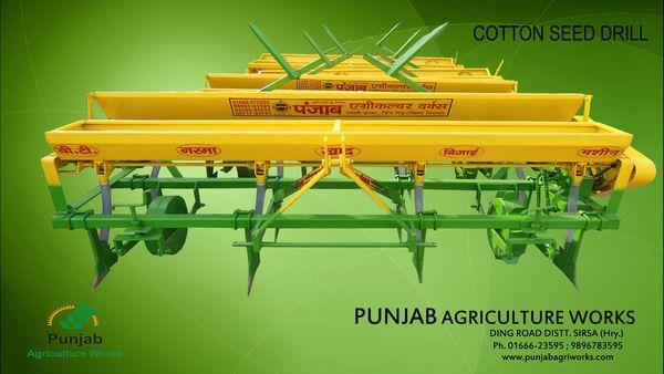 Cotton Seeds Drills