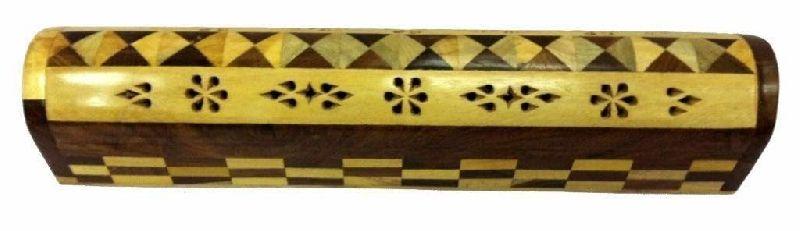 NRWC-15005 Sheesham Wood Incense Coffin Burner Box