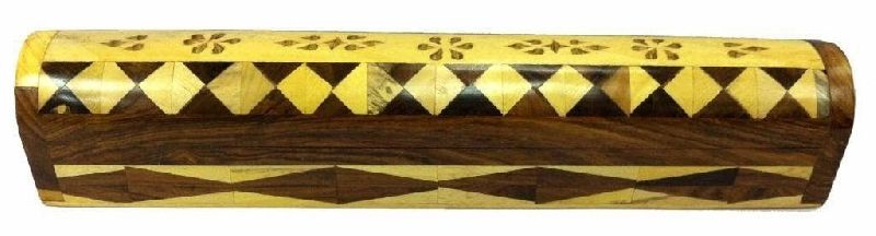 NRWC-15007 Sheesham Wood Incense Coffin Burner Box
