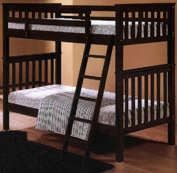 Wooden Double Decker Bed