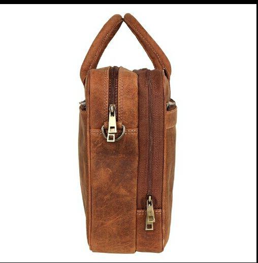 HL-103 Leather Laptop Bag 03