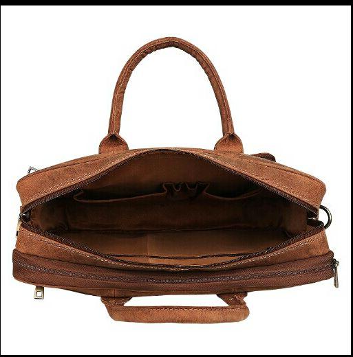 HL-103 Leather Laptop Bag 04