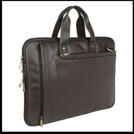 NL-106 Leather Laptop Bag 01