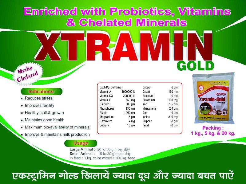 Xtramin Gold Powder