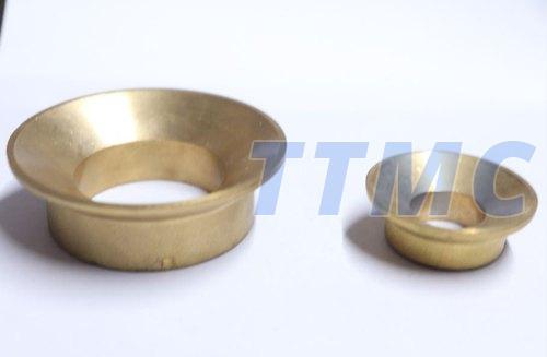 Polished Brass Caps