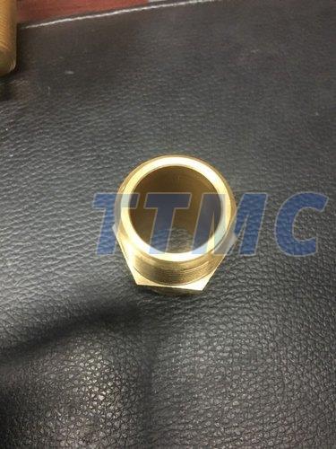 Polished Brass Hex Bushes