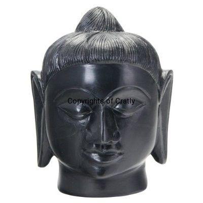 Buddha Black Face Statue