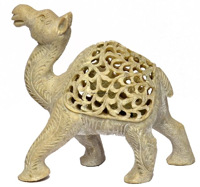 Stone Camel Statue