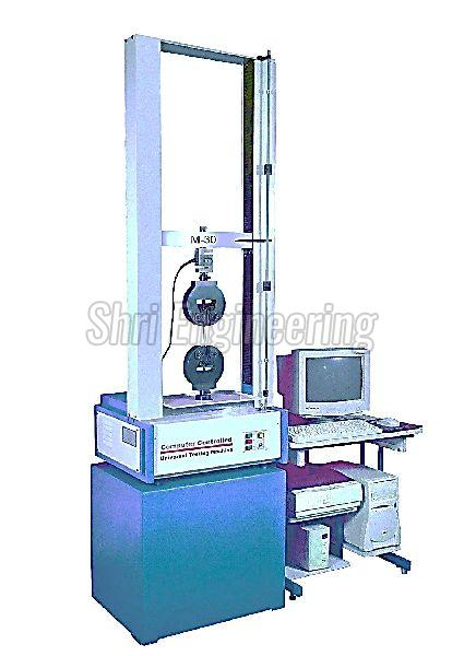 Computer Controlled Tensile Testing Machine