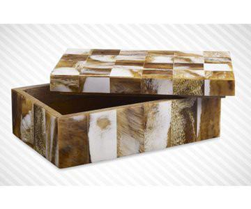 Horn Jewellery Box