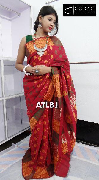 Cotton Jamdani Saree 02