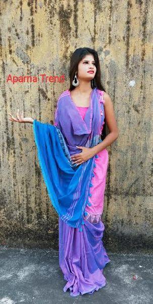 Handloom Cotton Silk Madhyamani Saree