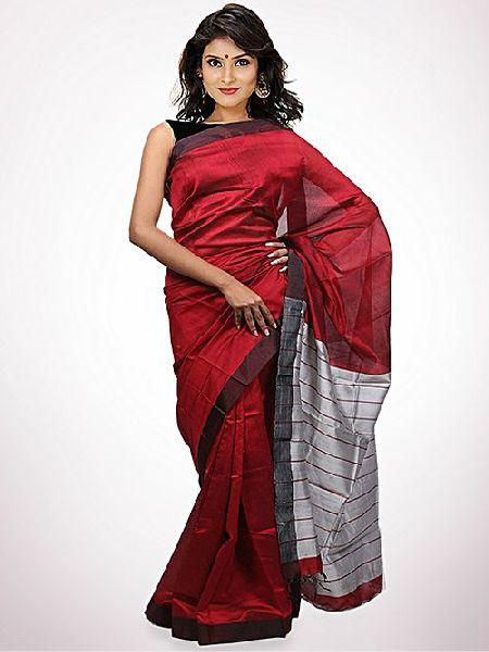 Tosor Silk Saree