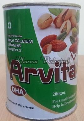 Arvita Badam Pista Flavor Powder