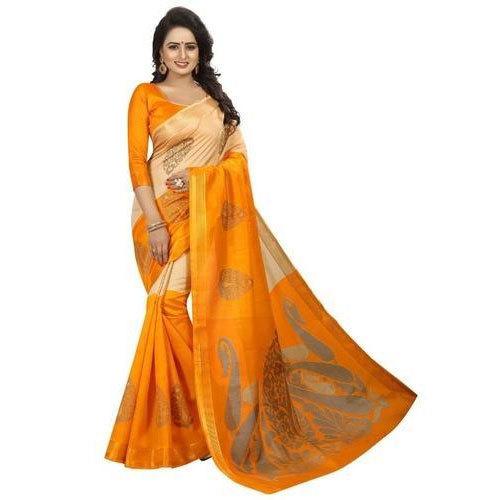 Jaipuri Party Wear Saree