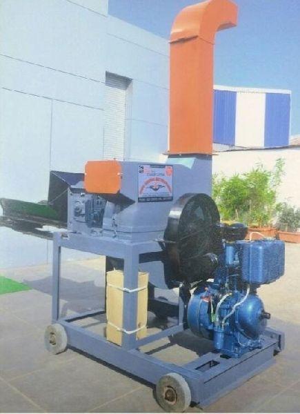 SK - 85 B Diesel Engine Heavy Duty Chaff Cutter Machine