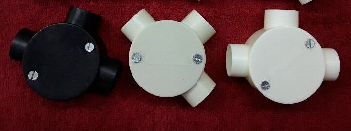 3 Way PVC Junction Box