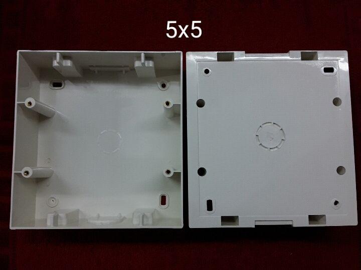 5 X 5 PVC Surface Modular Box