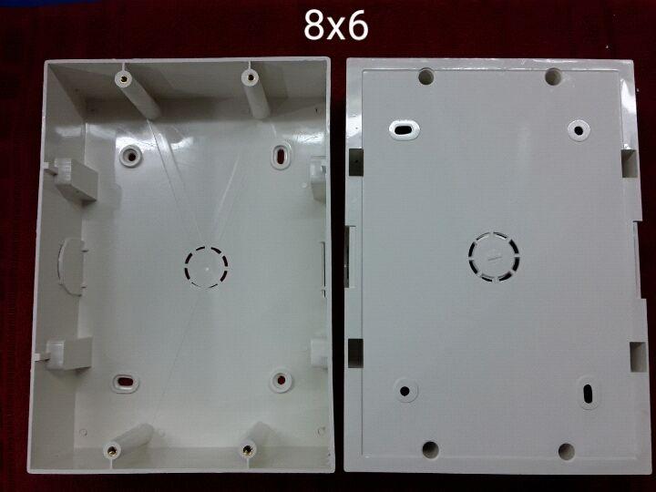 8 X 6 PVC Surface Modular Box
