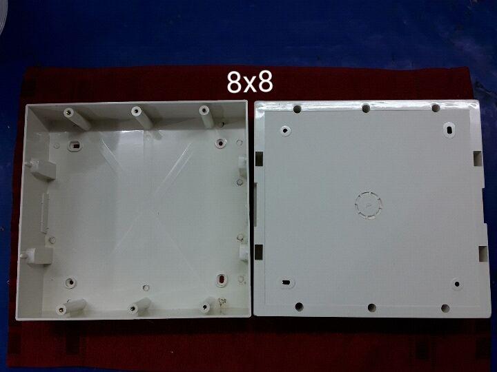 8 X 8 PVC Surface Modular Box