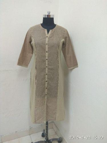 Cotton Linen Kurti