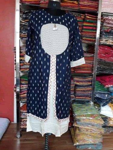 Jacket Style Kurti