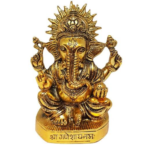 Aluminium Ganesh Statue