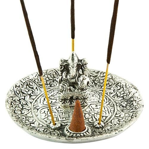 Lord Ganesh Carved Incense Sticks Holder