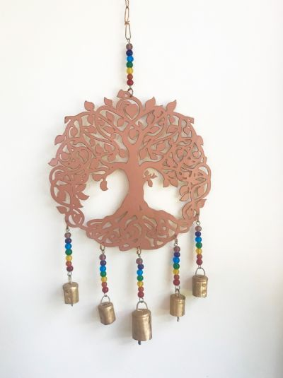 Tree of Life Iron Wind Chime 01