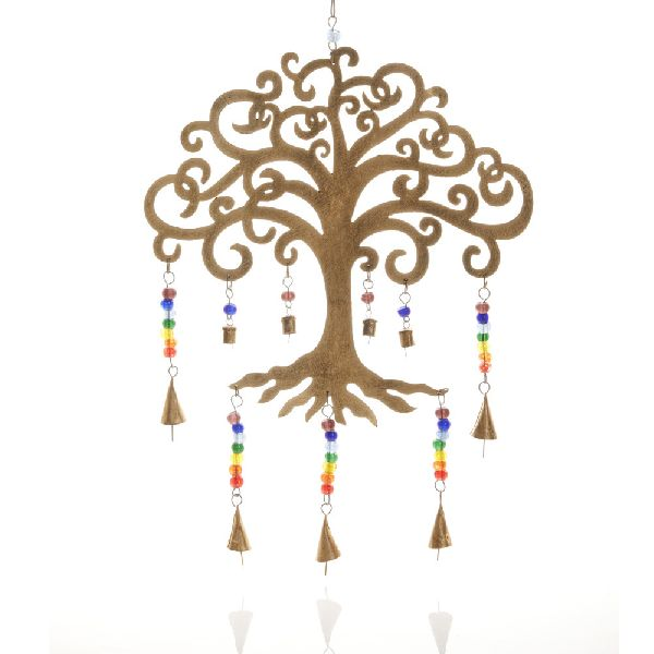 Tree of Life Iron Wind Chime 02