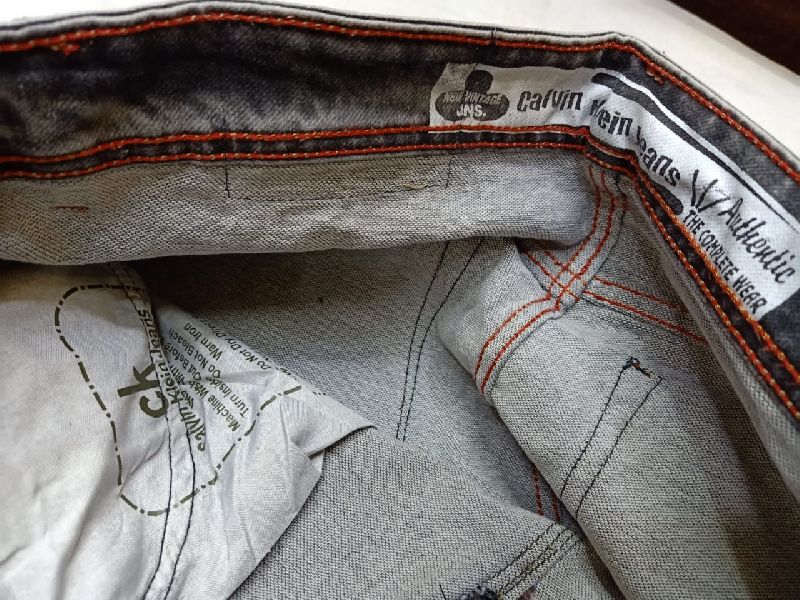 Branded copy jeans