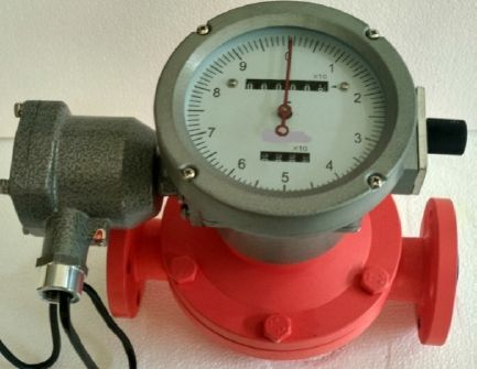 Mechanical Oil Flow Meter