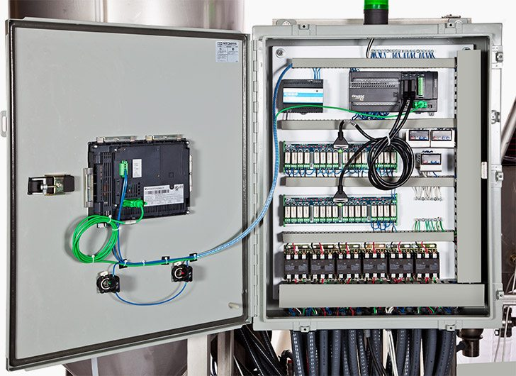 Electrical PLC Panel
