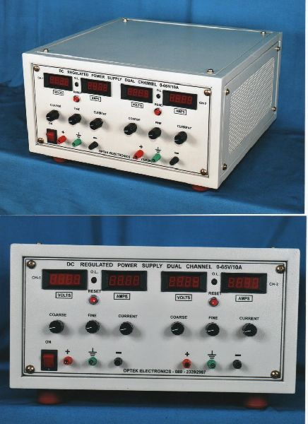 Dual Channel DC Power Supply System